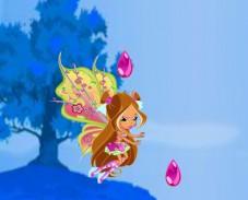 Игра Винкс клуб: Флора и изумруды онлайн