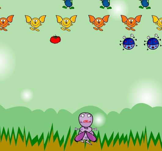 Игра Воспитание насекомых онлайн