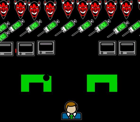 Игра Дьявольский глакси онлайн