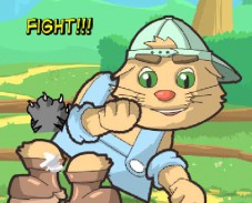 Игра Кот-боец онлайн