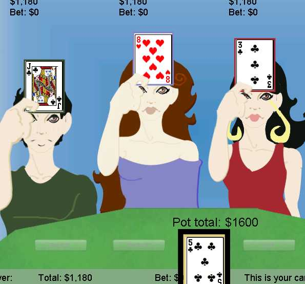 Игра Ленточный покер онлайн