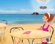 Игра Мороженое на пляже онлайн