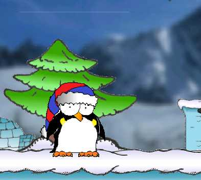 Игра Пингвин в поисках онлайн