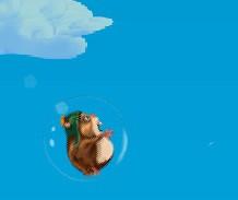 Игра Полет хомячка онлайн