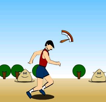 Игра Прыжки в длину онлайн