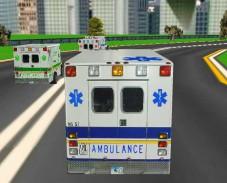 Игра Скорая Помощь 3D онлайн