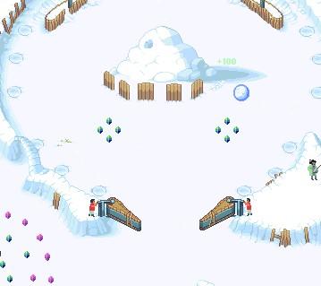 Игра Снежный шар онлайн