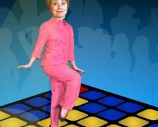 Игра Танцующая Хиллари онлайн