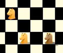 Игра Шахматы «конем» онлайн