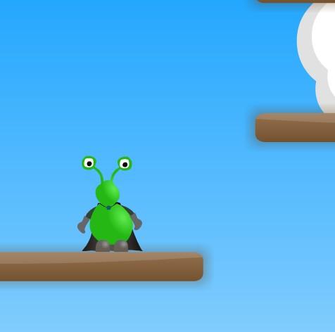 Игра Alien Jumper онлайн