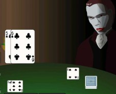 Игра Blackjack с вампиром онлайн