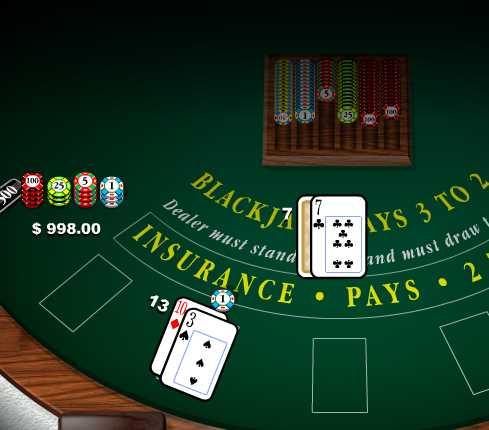 Игра Blackjack pays 3 to 2 онлайн