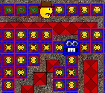 Игра Mummy Pac онлайн