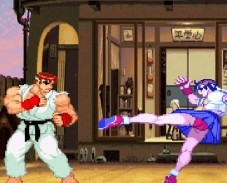 Игра Street Fighter The World Warrior онлайн
