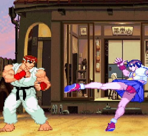 Игра Street Fighter The World Warrior онлайн