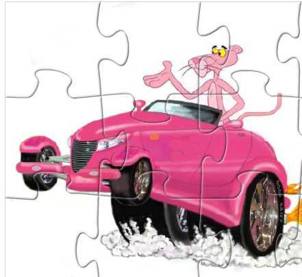 Игра Авто розовой пантеры онлайн