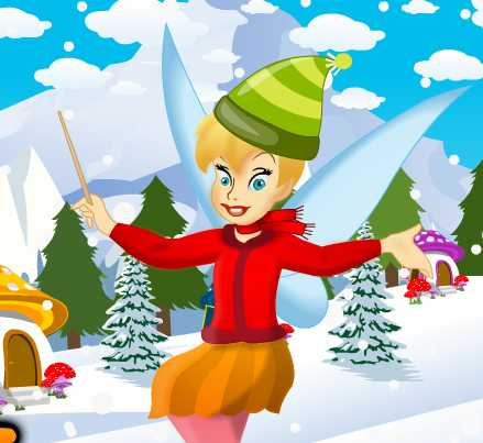 Игра Динь-Динь зимой онлайн