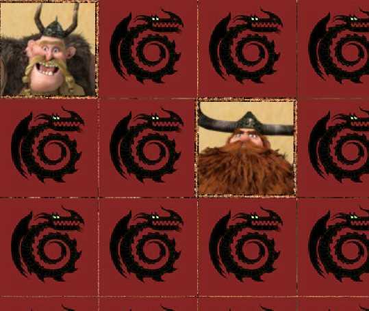 Игра Как приручить дракона найди пару онлайн
