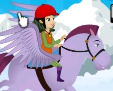 Игра Летающая лошадь Софии онлайн