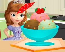 Игра Мороженое для Софии онлайн