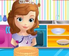 Игра София Прекрасная готовит пирог онлайн