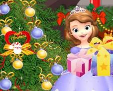 Игра София Прекрасная наряжает елку онлайн