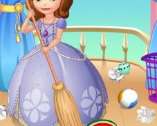 Игра София Прекрасная уборка онлайн