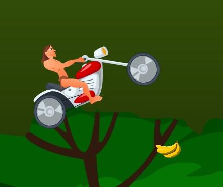 Игра Тарзан байк онлайн