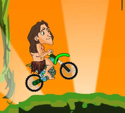 Игра Тарзан мотогонщик онлайн