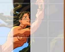 Игра Тарзан пазл онлайн