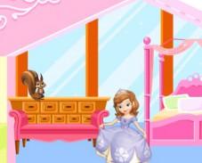 Игра Укрась дом Софии Прекрасной онлайн