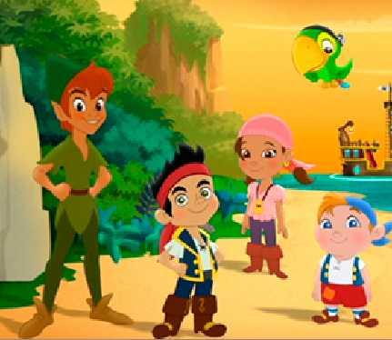 Игра Джейк и Пираты Нетландии пазл онлайн