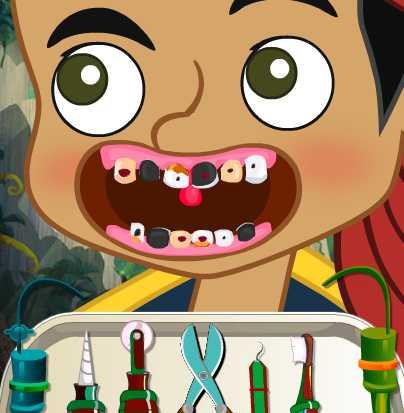 Игра Джейк у дантиста онлайн