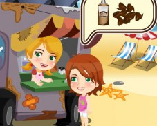 Игра Мороженое в жару онлайн
