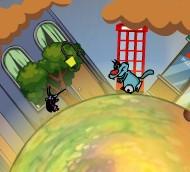 Игра Огги вокруг планеты онлайн