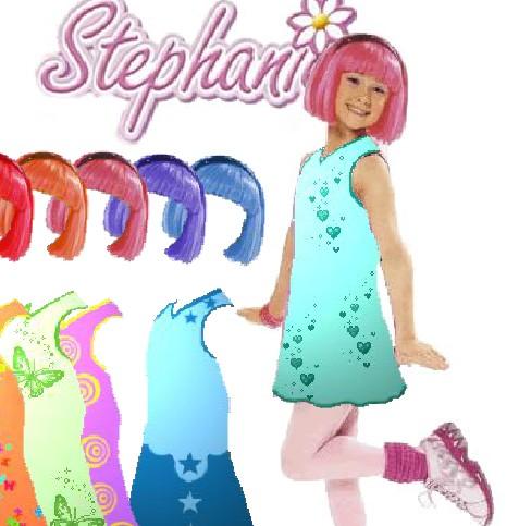 Игра Одевалка Стефании онлайн
