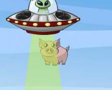 Игра Рога и Копыта НЛО онлайн