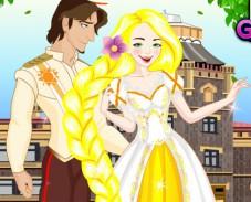 Игра Свадебный наряд Рапунцель онлайн