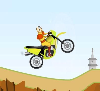 Игра Аватар мотоциклист онлайн