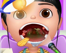 Игра Агнес у врача онлайн