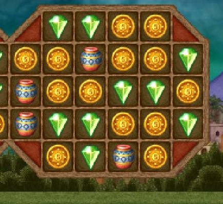 Игра Аладдин три в ряд онлайн