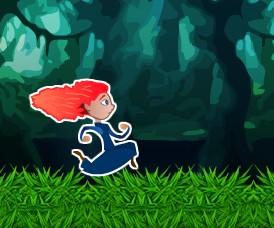 Игра Беги Мерида, беги онлайн