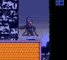 Игра Бэтмен на велосипеде онлайн