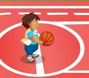 Игра Диего баскетболист онлайн