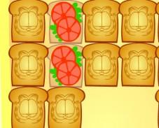 Игра Завтрак Гарфилда онлайн