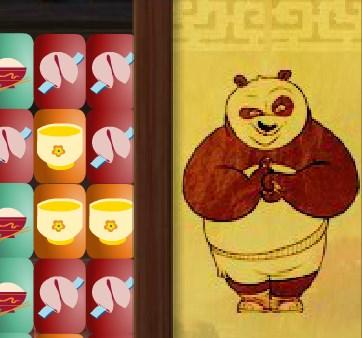 Игра Кунг-фу Панда три в ряд онлайн