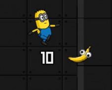 Игра Мииньон и бананы онлайн