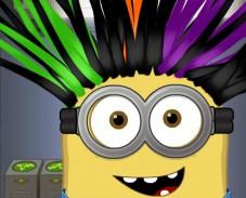 Игра Миньйон в парикмахерской онлайн