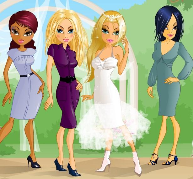 Игра Подружки невесты Братц онлайн