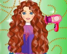 Игра Храбрая сердцем прически онлайн